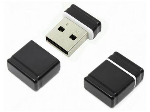 Usb-флешка Qumo Nanodrive USB2.0 8Gb (RTL), Black, вид 1