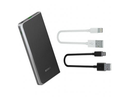 Аксессуар для телефона Внешний аккумулятор InterStep PB8000QC 8000 mAh, черный, вид 3