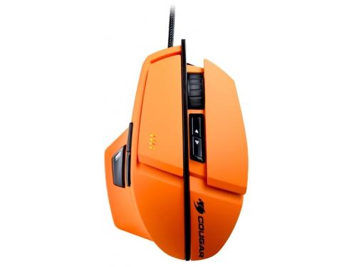 Мышь Cougar 600M, оранжевая, вид 2
