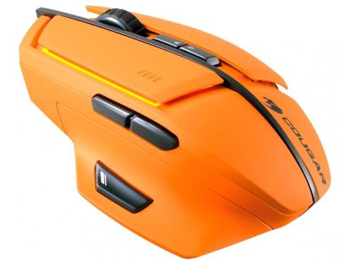 Мышь Cougar 600M, оранжевая, вид 3