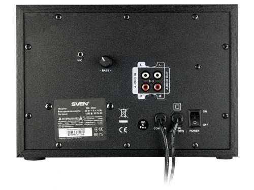 Компьютерная акустика Sven MS-1086, черно-золотистая, вид 2