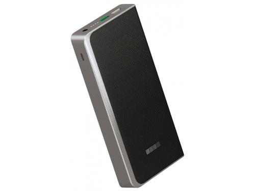 Аксессуар для телефона Внешний аккумулятор InterStep PB12000QC (12000 mAh), черный, вид 1