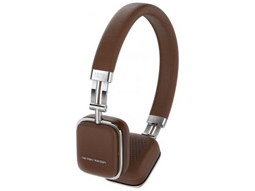 Гарнитура bluetooth Harman/Kardon Soho Wireless, коричневая, вид 1