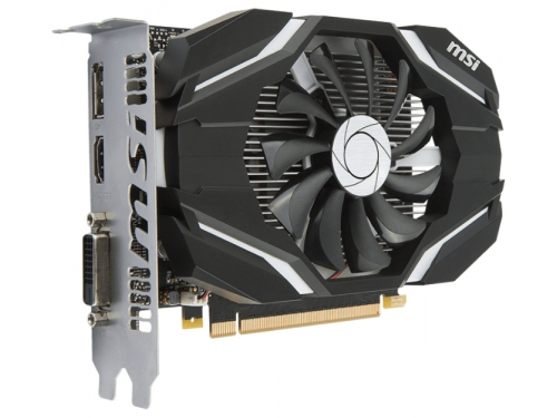 Видеокарта GeForce MSI PCI-E NV GTX1050 2048Mb 128b DDR5 GTX 1050 2G OC, вид 1