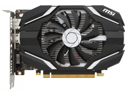 Видеокарта GeForce MSI GeForce GTX 1050 Ti 1341Mhz PCI-E 3.0 4096Mb 7008Mhz 128 bit DVI HDMI HDCP OC, вид 1