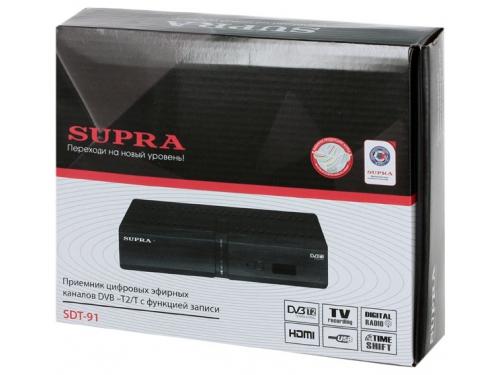 Tv-тюнер Supra SDT-91 (приемник телевизионный), вид 3