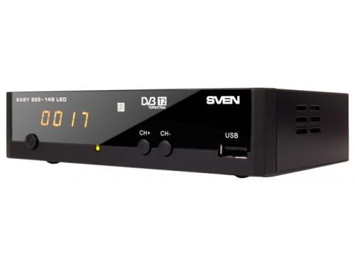Tv-тюнер Sven EASY SEE-149 LED (приемник телевизионный), вид 1