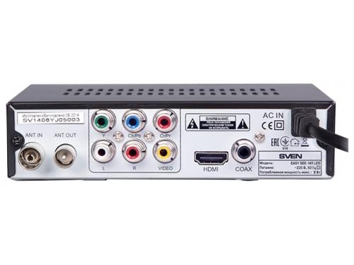Tv-тюнер Sven EASY SEE-149 LED (приемник телевизионный), вид 3