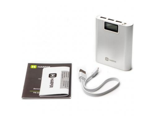 Аксессуар для телефона Внешний аккумулятор Harper PB-2010, белый, вид 2