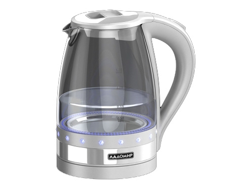 Чайник электрический Ладомир-115-9, белый, вид 1