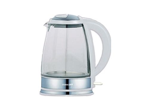 Чайник электрический Jarkoff JK-115, белый, вид 1