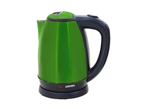 Чайник электрический Jarkoff JK-202GR (1.8 л) зеленый, вид 1