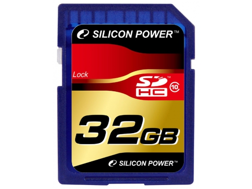 Карта памяти Silicon Power SDHC Card 32GB Class 10, вид 1