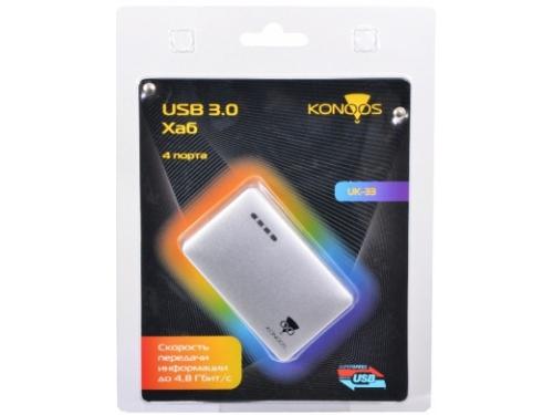 USB-концентратор Konoos UK-33, вид 1