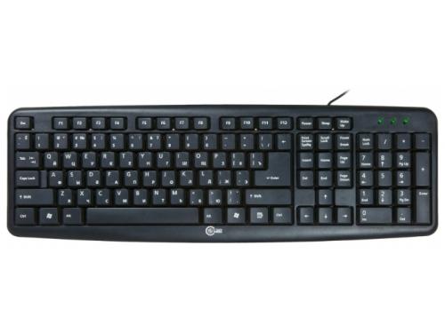 Клавиатура CBR KB 107 Black USB, вид 1