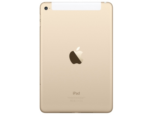 Планшет Apple iPad mini 4 Wi-Fi+Cellular 32GB Gold, вид 2