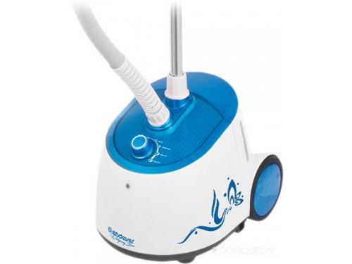 Пароочиститель-отпариватель Endever Odyssey Q-306, белый / синий, вид 2