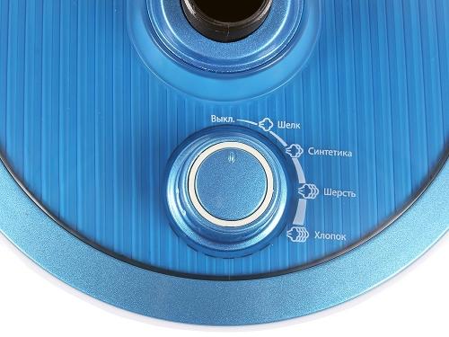 Пароочиститель-отпариватель Endever Odyssey Q-306, белый / синий, вид 3