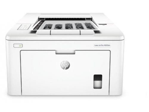 Принтер лазерный ч/б HP LaserJet Pro M203dn (настольный), вид 1