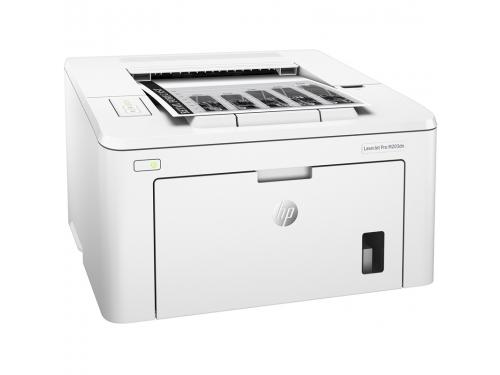Принтер лазерный ч/б HP LaserJet Pro M203dn (настольный), вид 2