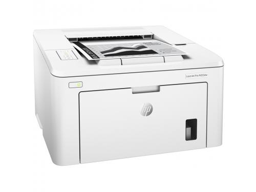 Принтер лазерный ч/б HP LaserJet Pro M203dw (настольный), вид 1