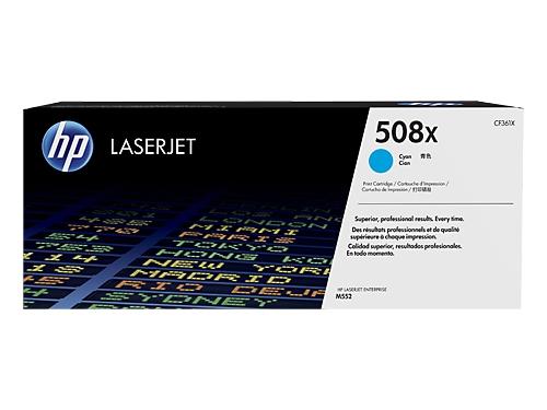 Картридж для принтера HP 508X Голубой (увеличенной ёмкости), вид 1