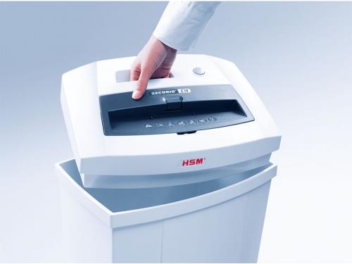 Уничтожитель бумаг HSM Securio С14-4х25, белый, вид 3