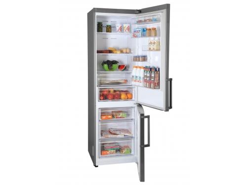 Холодильник Samsung RB37J5350SS, серебристый, вид 4