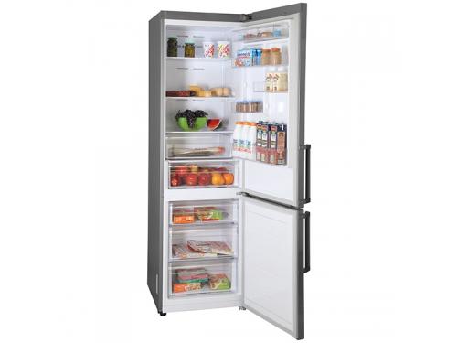 Холодильник Samsung RB37J5350SS, серебристый, вид 3