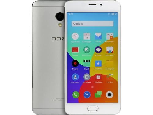 Смартфон Meizu M3E 3/32GB, серебристо-белый, вид 1