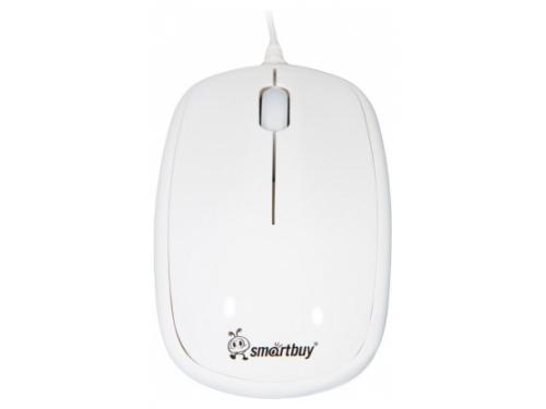 Мышь SmartBuy SBM-313-W USB, белая, вид 1