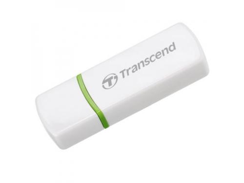 Устройство для чтения карт памяти Transcend TS-RDP5W, белый, вид 1