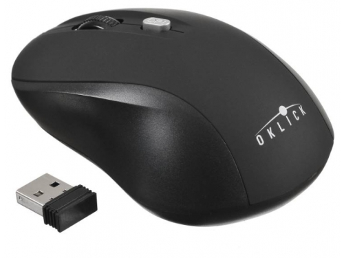 Мышь Oklick 415MW USB черная, вид 1