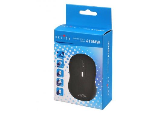 Мышь Oklick 415MW USB черная, вид 5