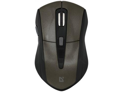 Мышь Defender Accura MM-965, коричневая, вид 1
