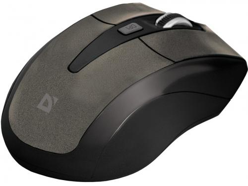 Мышь Defender Accura MM-965, коричневая, вид 3