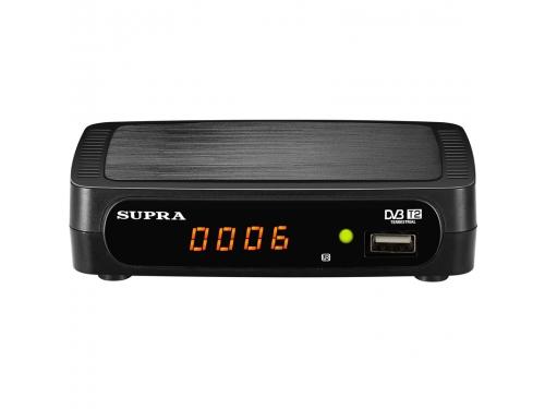 Tv-тюнер Supra SDT-85, черный, вид 1