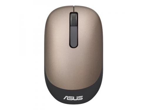 Мышь Asus WT205 USB золотистая, вид 1