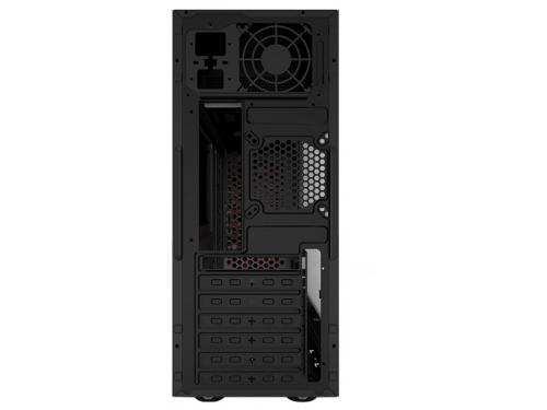 Корпус ATX 3Cott 3C-ATX901GR Avalanche 800W, черный/красный, вид 3