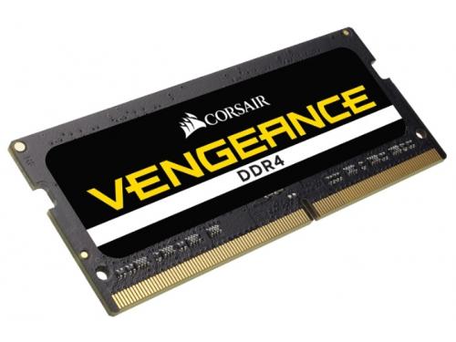Модуль памяти DDR4 16Gb 2400MHz, Corsair CMSX16GX4M2A2400C16 RTL PC3-19200 SO-DIMM 260-pin 1.2В, вид 1