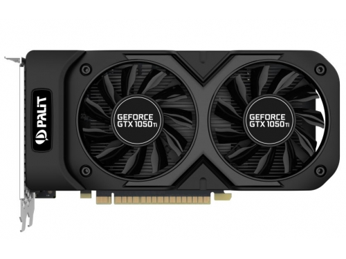 Видеокарта GeForce Palit GeForce GTX 1050 Ti 1366Mhz PCI-E 3.0 4096Mb 7000Mhz 128 bit DVI HDMI HDCP, Dual OC 4G (NE5105TS18G1-1071D), вид 2