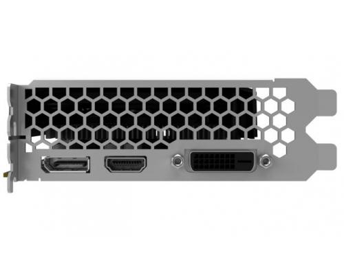 Видеокарта GeForce Palit GeForce GTX 1050 Ti 1366Mhz PCI-E 3.0 4096Mb 7000Mhz 128 bit DVI HDMI HDCP, Dual OC 4G (NE5105TS18G1-1071D), вид 3