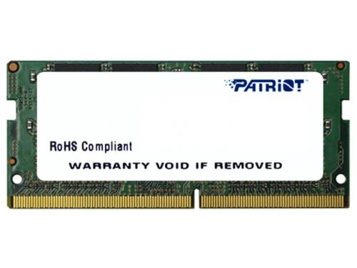 Модуль памяти DDR4 4Gb 2133MHz, Patriot PSD44G213381S RTL PC4-17000 CL15 SO-DIMM 260-pin 1.5В single rank, вид 1