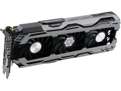 Видеокарта GeForce INNOVISION PCI-E NV iChill GTX1080 X3 8192Mb 256b DDR5X C108V3-2SDN-P6DNX, вид 1