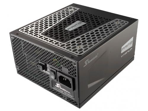 Блок питания Seasonic ATX 650W PRIME TITANIUM SSR-650TD 80+ platinum (24+4pin) APFC 140mm fan 10xSAT, вид 1