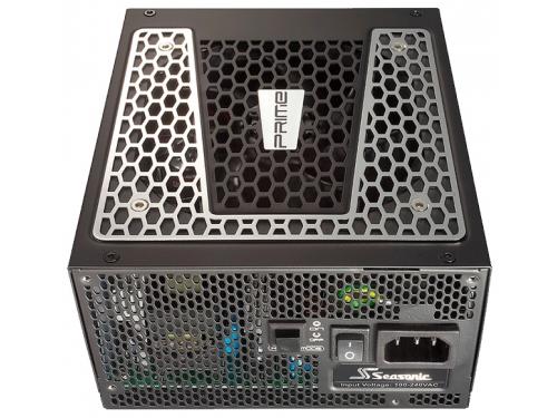 Блок питания Seasonic ATX 650W PRIME TITANIUM SSR-650TD 80+ platinum (24+4pin) APFC 140mm fan 10xSAT, вид 3