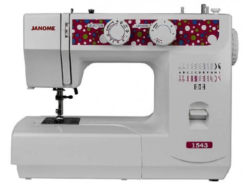 Швейная машина Janome 1543 (полуавтомат), вид 1