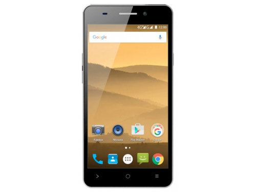 Смартфон Highscreen Power Five Evo 16Gb, коричневый, вид 1