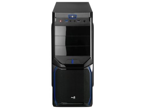 Корпус Aerocool V3X Advance Blue Edition, ATX, 600Вт, USB 3.0, вид 2