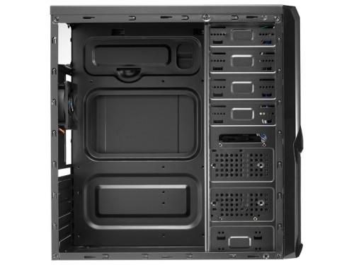 Корпус Aerocool V3X Advance Devil Red Edition, ATX, 600Вт, USB 3.0, вид 3